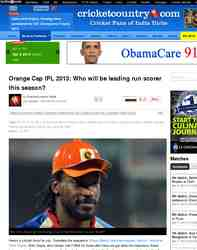 Orange Cap IPL 2013 Who will be leading: Cricket Country